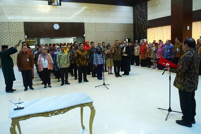 Pramono: Pejabat Baru Jangan Bekerja Secara Rutinitas