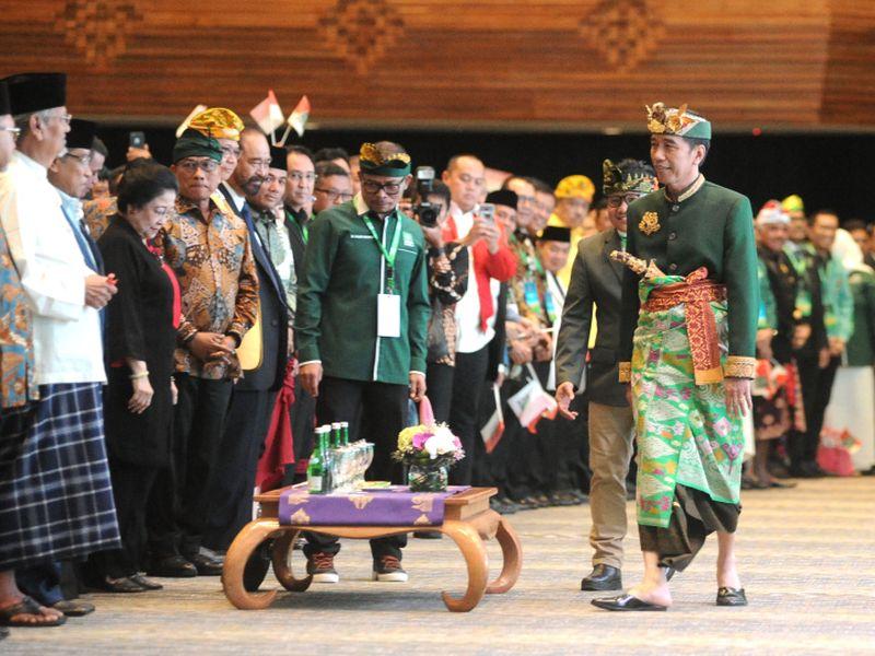 Buka Muktamar PKB di Bali, Jokowi