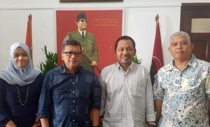 Hasto Terima Kunjungan Pengurus DPD PDI Perjuangan Aceh