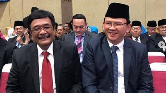 Djarot Tak Tahu Ahok Datang di Pelantikan DPRD DKI Jakarta