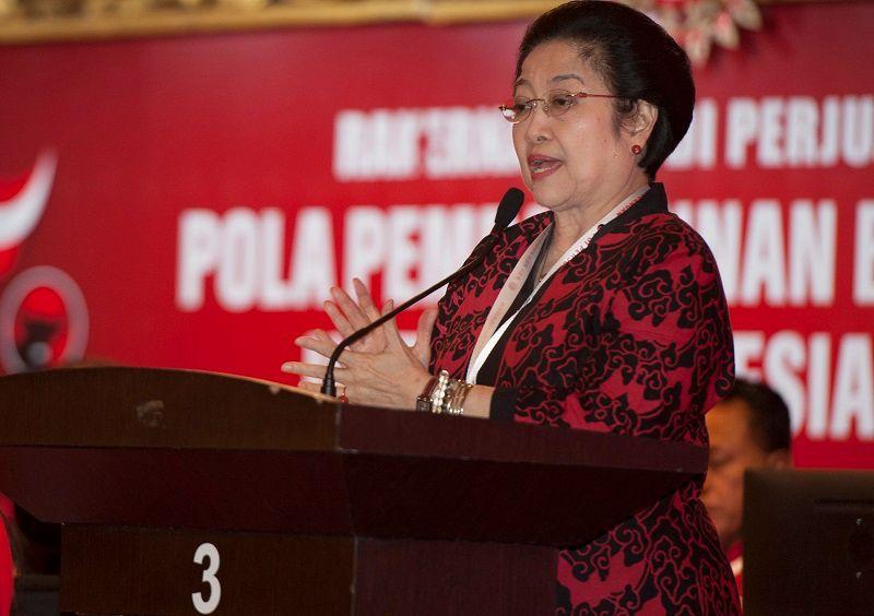 Soal Susunan Kabinet, Megawati Tunggu Pelantikan Presiden