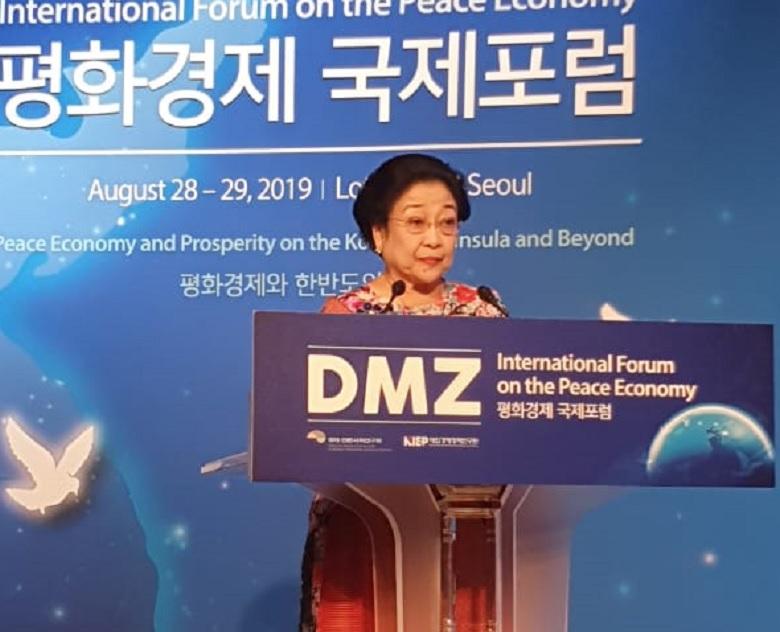 Megawati Tawarkan Musyawarah Mufakat untuk Perdamaian Korea