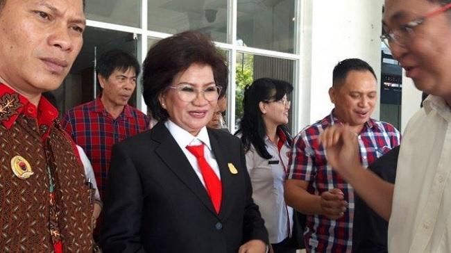 Altje Calon Tunggal & Optimistis Jadi Ketua DPRD Manado
