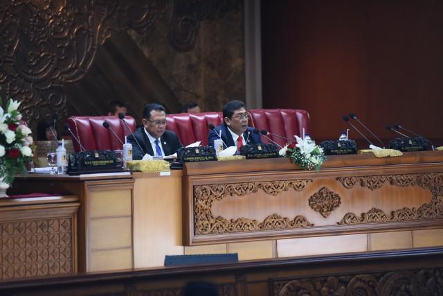 DPR Ketok Palu, Revisi UU MD3 dan UU KPK