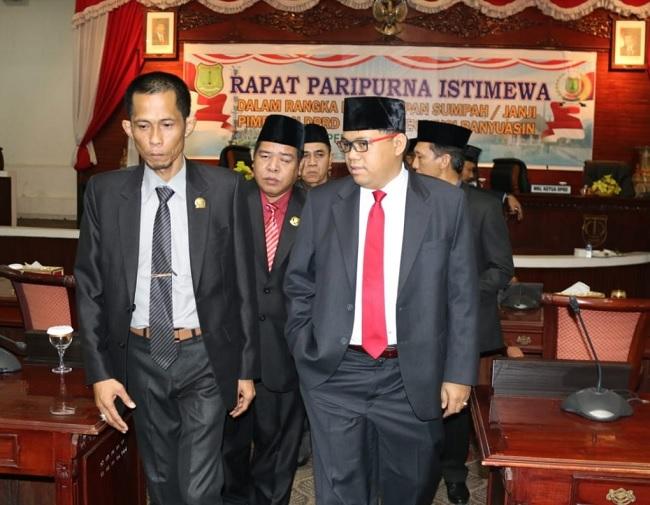 H. Ismail Masuk Bursa Pimpinan DPRD Muba, Ini Visinya