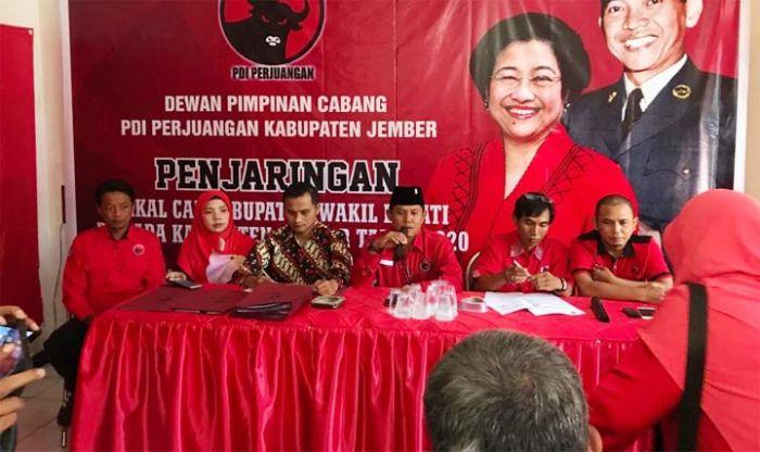 PDI Perjuangan Jember Buka Pendaftaran Cakada