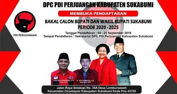 DPC Sukabumi Targetkan Setor Nama Paslon 22 September