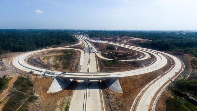 Jalan Tol Pertama di Ibu Kota Baru Beroperasi Akhir Oktober