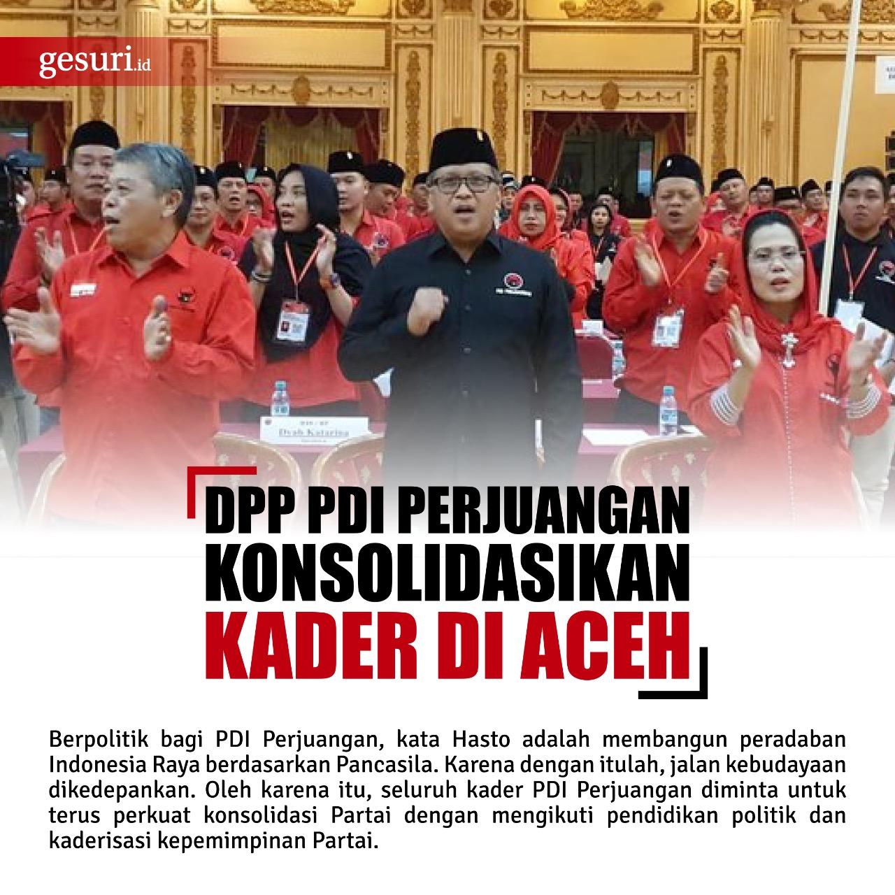 Konsolidasi di Aceh kedepankan gotong royong