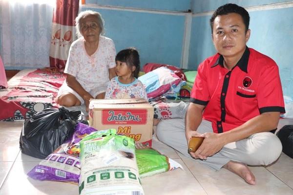 DPC Palembang Salurkan Bantuan Korban Kebakaran