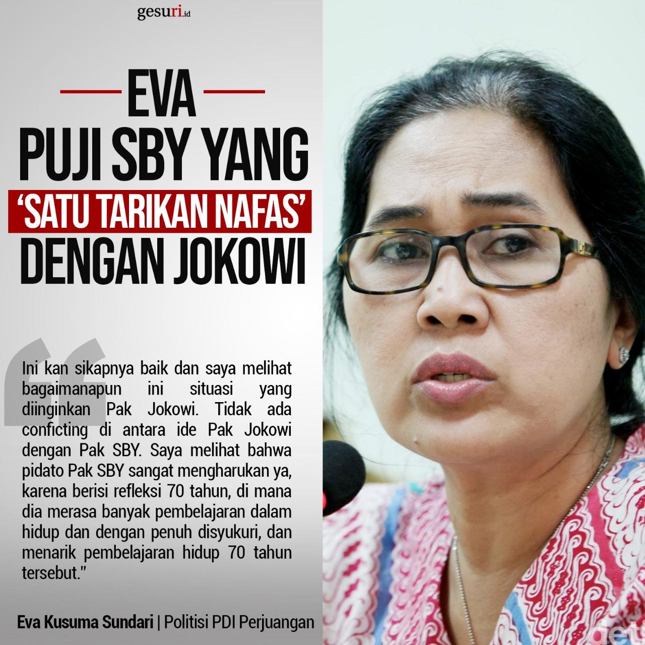 Ternyata SBY 'Satu Tarikan Nafas' dengan Jokowi
