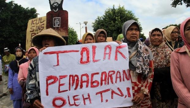 Kasus Urutsewu Kebumen, Sari: Kembalikan Tanah Rakyat !