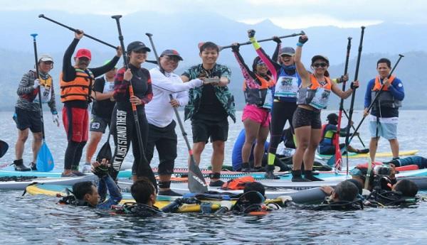 Gus Ipin Ajak Komunitas Stand Up Paddle Eksplor Pantai