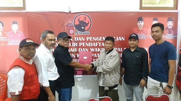 DPC Ketapang Terima Yudo Sudarto, Ramaikan Pilkada 2020