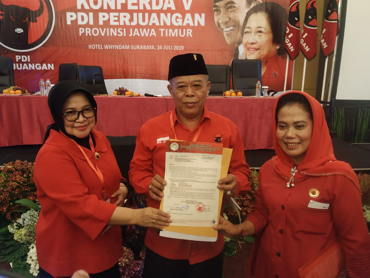 DPP PDI Perjuangan Tunjuk Kusnadi Pimpin DPRD Jatim