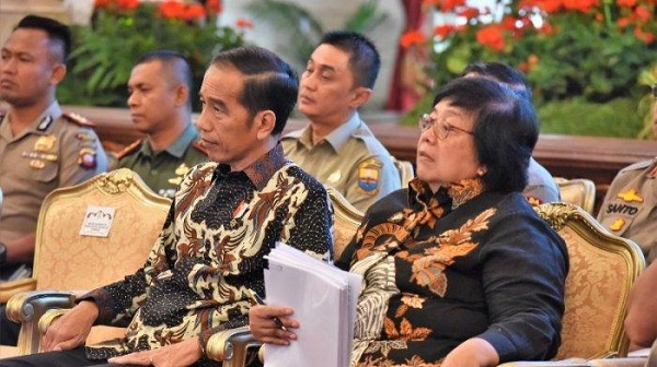 Karhutla Riau, Jokowi Minta Seluruh Pihak Terkait Koordinasi