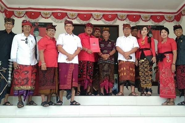 DPD PDI Perjuangan Bali Terima Hasil Penjaringan Enam DPC