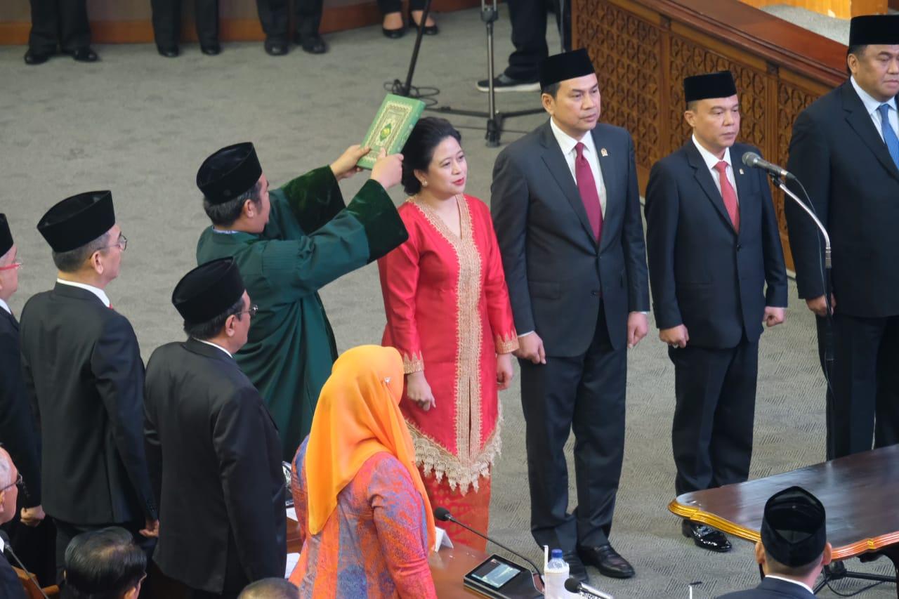 Sah! Puan Maharani Ketua DPR 2019-2024