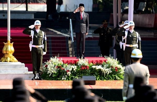 Jokowi: Pancasila Benteng Menghadapi Serbuan Ideologi