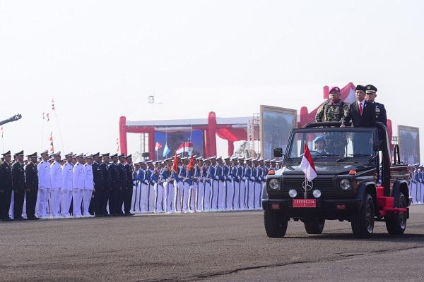 Jokowi: Pemerintah Akan Tambah 450 Posisi Baru Untuk TNI