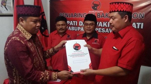 Ketua PDI Perjuangan Pesawaran Sah Jadi Ketua DPRD