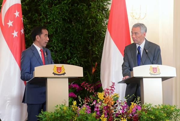 Jokowi: Singapura Pahami Kedaulatan Wilayah Udara RI