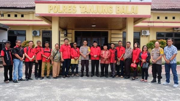 DPC PDI Perjuangan Tanjungbalai Audiensi ke Polres