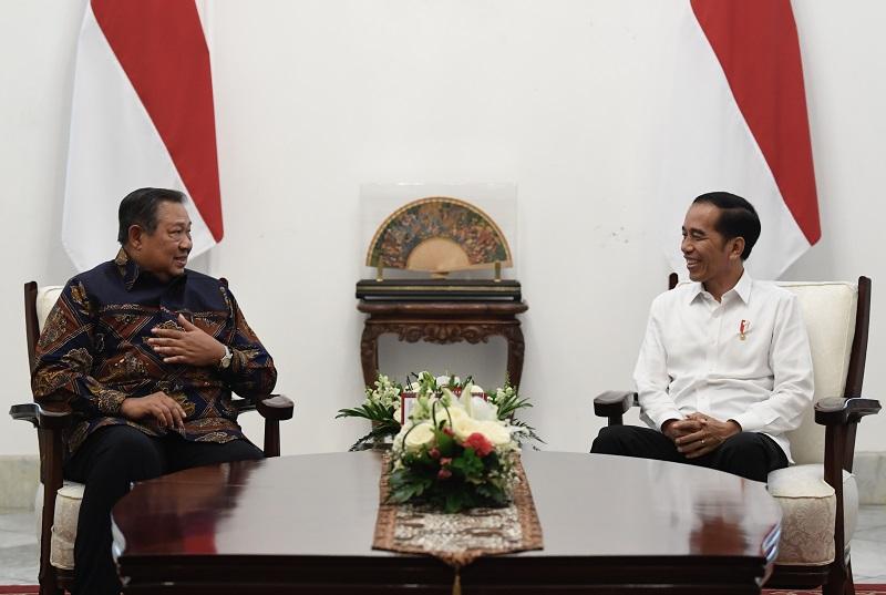 Presiden Jokowi dan SBY Bahas Kondisi Bangsa