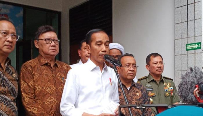 Presiden Jokowi Ajak Masyarakat Perangi Terorisme