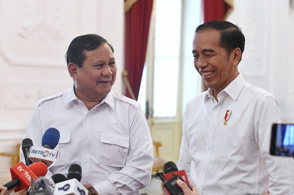Prabowo Siap Gabung, Jokowi Sebut Soal Koalisi Belum Final