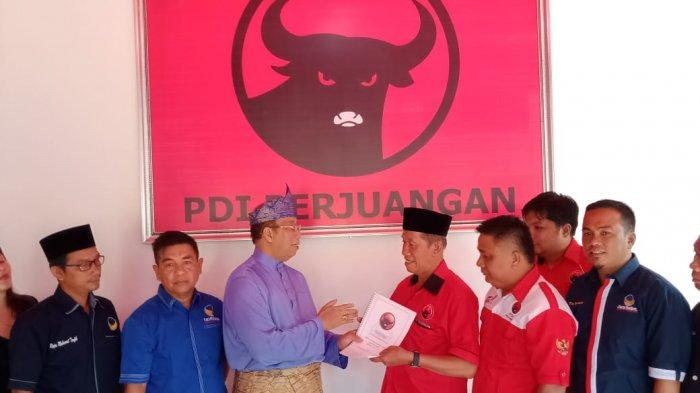 Pilkada Karimun, Politisi Nasdem Daftar di PDI Perjuangan