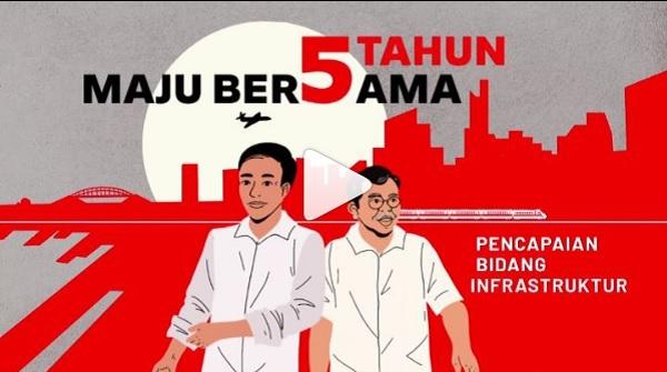 Jokowi: Pencapaian Infrastruktur Modal Percaya Diri Bangsa