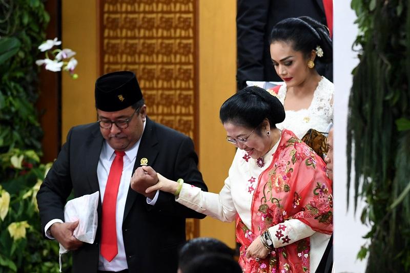 Megawati Telah Serahkan Nama-Nama Calon Menteri