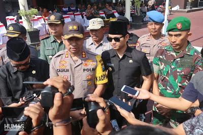 Gus Ipin Wacanakan Kumpulkan Pengungsi Korban Kerusuhan