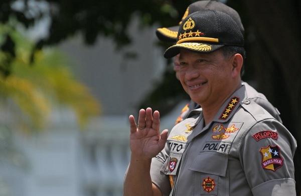 Tito Resmi Diberhentikan Presiden Jokowi Sebagai Kapolri