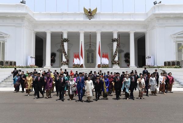 Lima Kader Banteng Masuk Kabinet Indonesia Maju