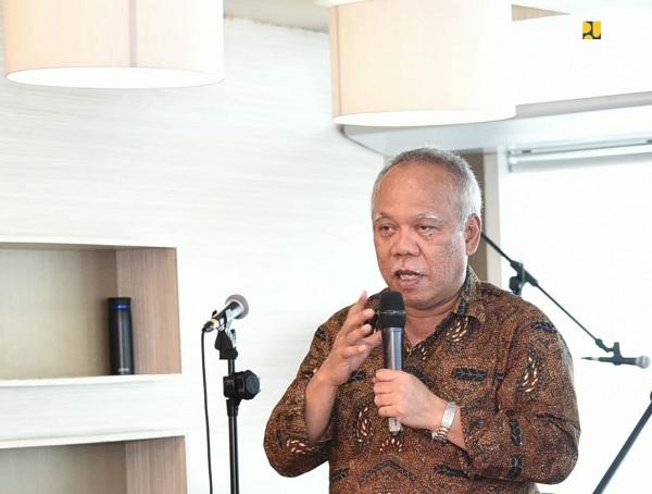 Menteri Basuki Ajak Jajarannya Bekerja Lebih Baik