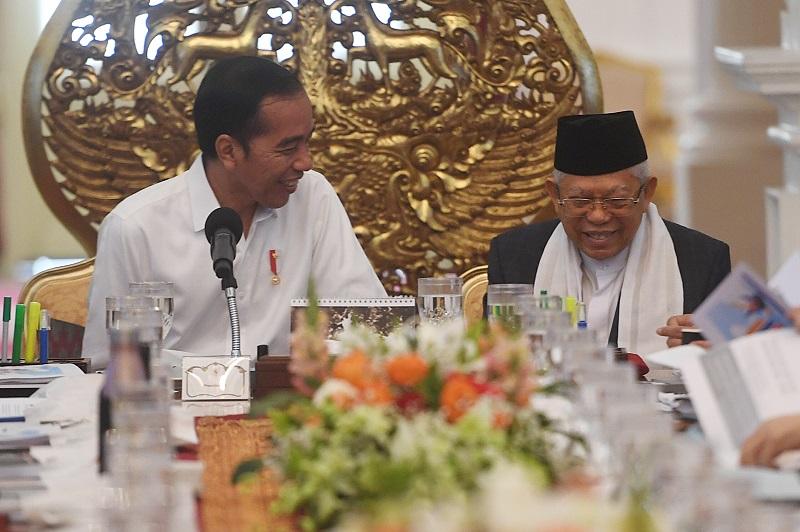 Jokowi Tegaskan Menteri Jangan Jalan Sendiri-Sendiri