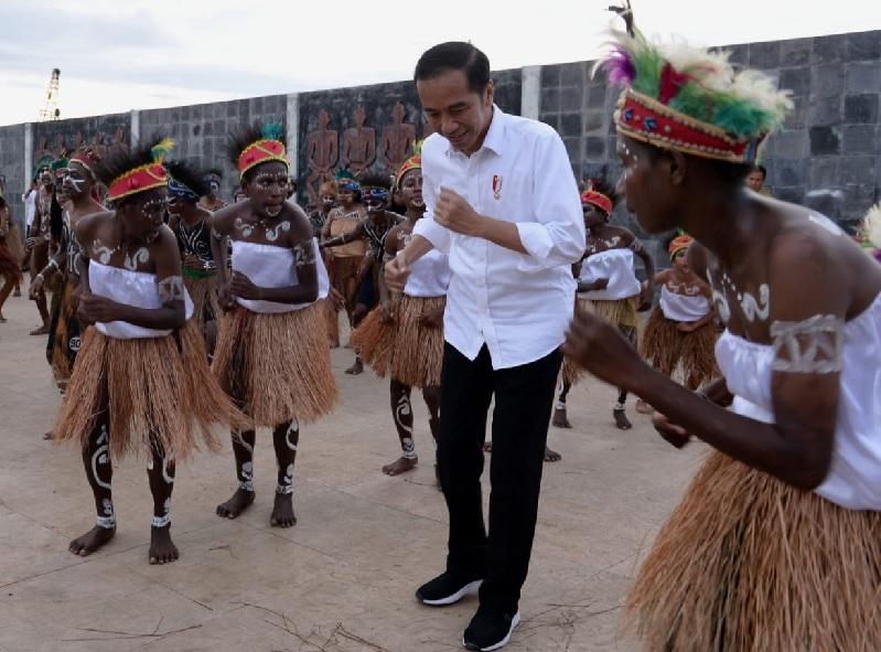 Presiden Ajak Pemuda Bersama-sama Bangun Bangsa