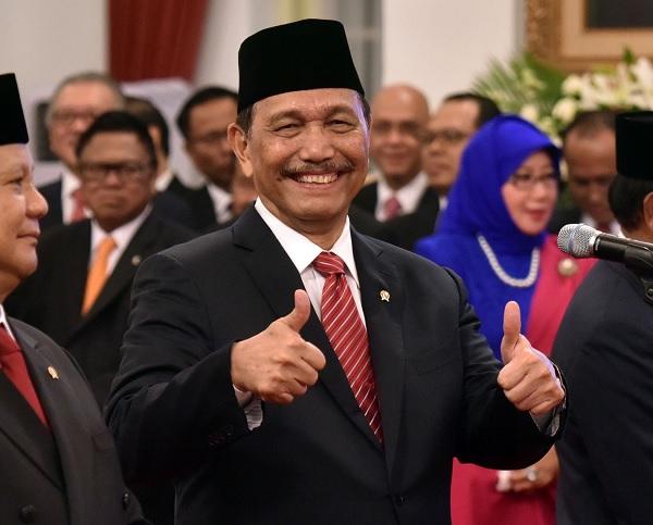Jokowi Teken Perpres Kemenko Kemaritiman & Investasi