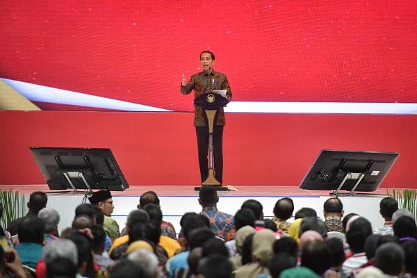 Gunakan Uang Pemerintah Untuk Impor, Jokowi: Kebangetan!