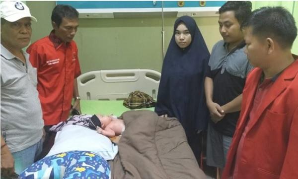 Hari Pahlawan, PDI Perjuangan Nunukan Kunjungi Bayi Mizyan