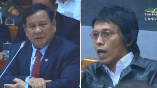 Raker Menhan Prabowo, Adian: Dipaparkan Tapi Tak Dibacakan