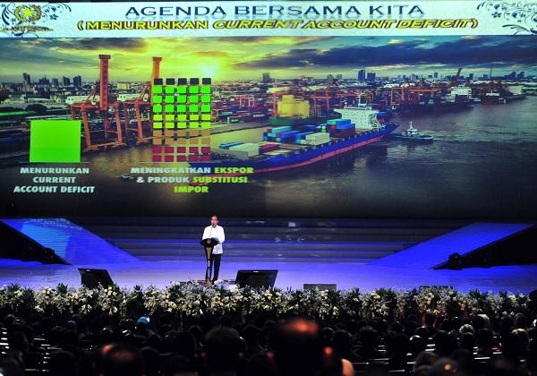 Halangi Tekan Defisit Transaksi, Jokowi: Pasti Saya Gigit!