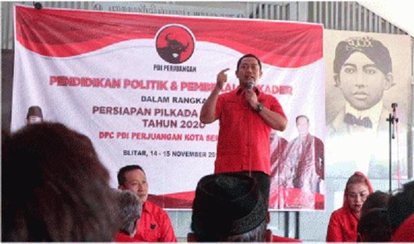 PDI Perjuangan Semarang Gelar Kaderisasi & Ziarah Makam BK