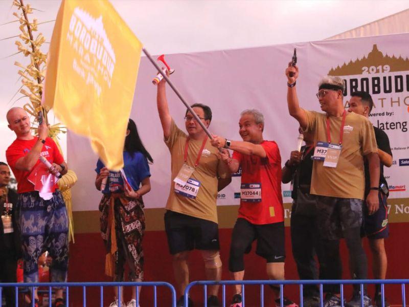 Ganjar Bangga Borobudur Marathon Berlangsung Sukses