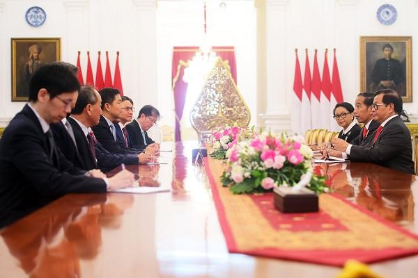 Presiden Sebut RI & Singapura Perlu Perkuat Kerja Sama