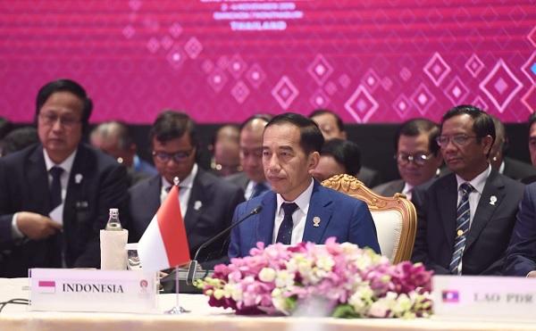 Jokowi Akan Hadiri Rangkaian KTT Ke-30 Tahun ASEAN-Korea