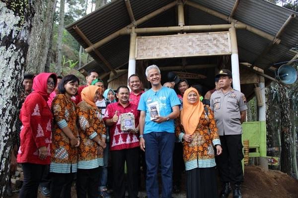 Ganjar Antusias Ajak Warganet ke Desa Wisata Sepakung
