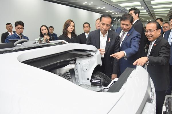 Disambangi Jokowi, Hyundai Akan Bangun Pabrik, US$1,5 Miliar
